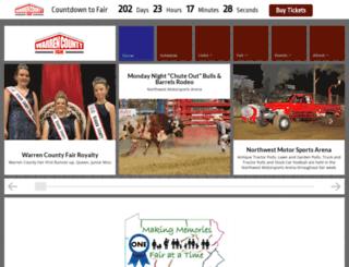warrencountyfair.net screenshot