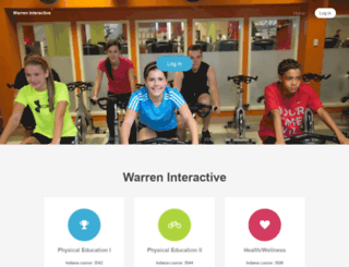 warreninteractive.org screenshot