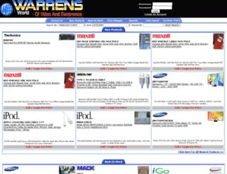 warrensworld.com screenshot