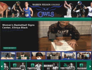 warrenwilsonowls.com screenshot