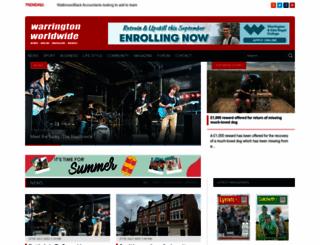 warrington-worldwide.co.uk screenshot