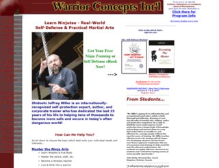 warrior-concepts-online.com screenshot