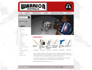 warrioraustralia.com.au screenshot