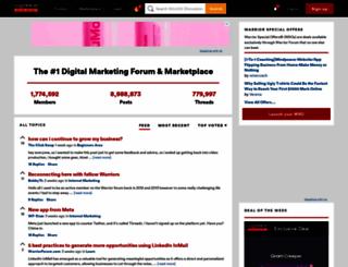 warriorforum.com screenshot