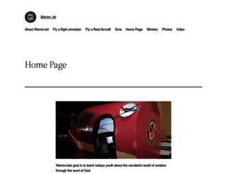 warriorjet.com screenshot