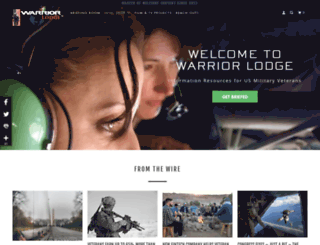 warriorlodge.com screenshot