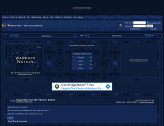 warriornation.com screenshot