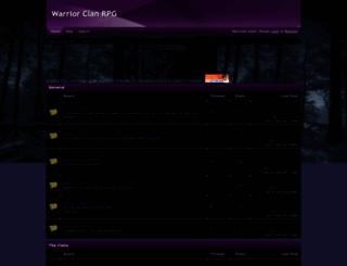 warriors-clansrpg.freeforums.net screenshot