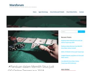 warsforum.com screenshot