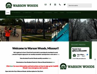 warsonwoods.com screenshot