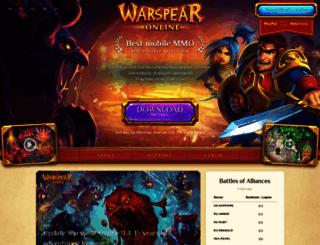 warspear-online.com screenshot