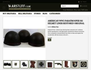warstuff.com screenshot