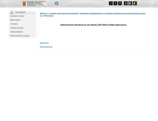 warszawa-przedszkola.pzo.edu.pl screenshot