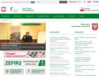 warszawa.ic.gov.pl screenshot