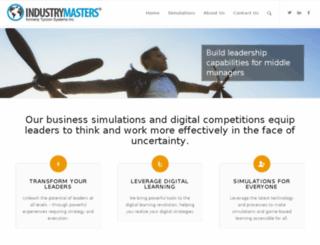 warszawa.industrymasters.com screenshot