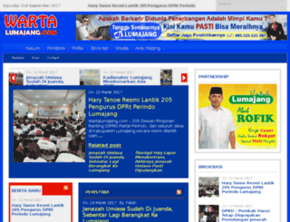 wartalumajang.com screenshot
