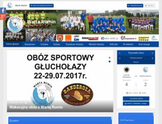 wartarumin.futbolowo.pl screenshot