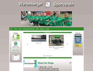 wartenberger-sv.de screenshot