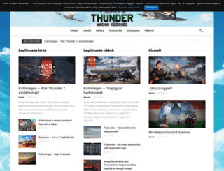 warthunder.hu screenshot