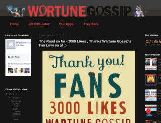 wartunegossip.blogspot.in screenshot