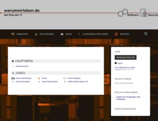warumwirleben.de screenshot