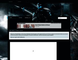 warzoneskin.forumotion.com screenshot