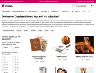 was-soll-ich-schenken.net screenshot