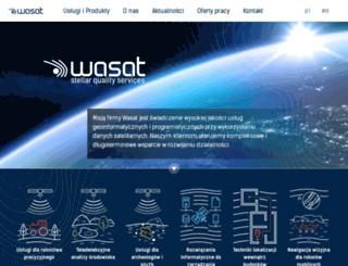 wasat.pl screenshot