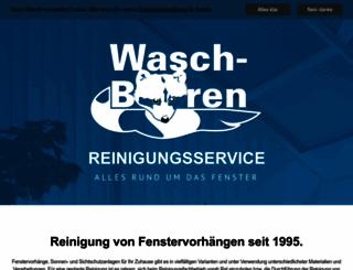 waschbaeren.de screenshot