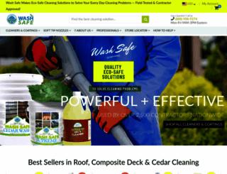 wash-safe.com screenshot