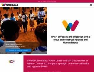 wash-united.org screenshot