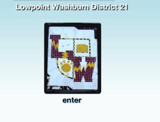 washburn.k12.il.us screenshot