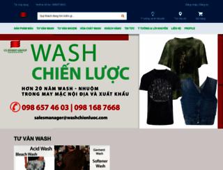washchienluoc.com screenshot