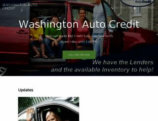 washingtonautocredit.com screenshot
