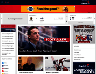 washingtoncaps.com screenshot