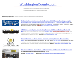 washingtoncounty.com screenshot