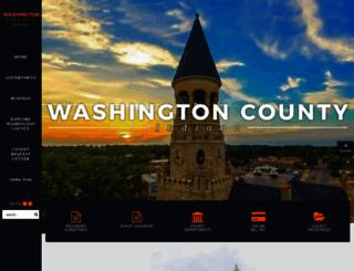 washingtoncounty.in.gov screenshot
