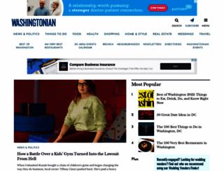 washingtonian.com screenshot