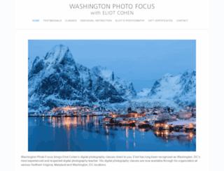 washingtonphotofocus.com screenshot
