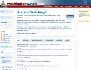 washingtonwatch.com screenshot