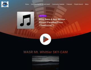 wasr.net screenshot