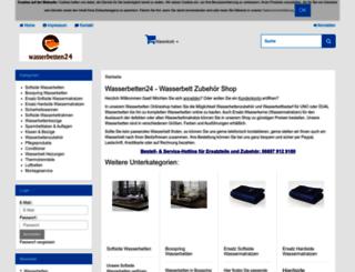 wasserbetten24.de screenshot