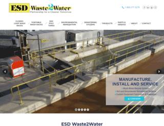 waste2water.com screenshot