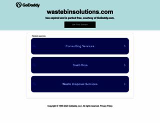 wastebinsolutions.com screenshot