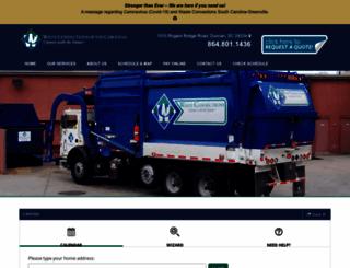 wasteconnectionsofthecarolinas.com screenshot