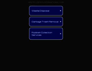 wastecontrolinternational.com screenshot