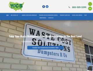 wastecostsolutions.com screenshot