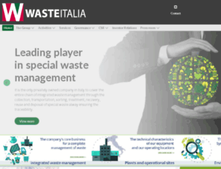 wasteitalia.it screenshot