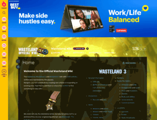 wasteland.gamepedia.com screenshot