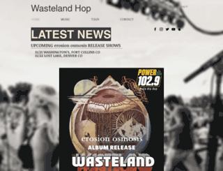 wastelandhop.com screenshot